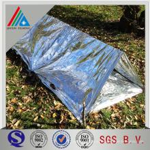 Двухсторонняя ламинированная полиэтиленовая пленка из алюминиевой фольги толщиной 10 микрон для гибкого воздуховода