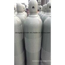 99,999% Sauerstoff gefüllt in 40 l Zylinder, Fülldruck: 150 bar