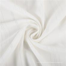 Tecido crepe 100% algodão jacquard de crepe