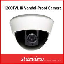 1200tvl IR cámara de seguridad CCTV dome de plástico
