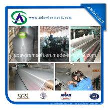 130G / M2 20 * 20 malha de tela de fibra de vidro