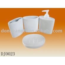 Accesorio de baño de cerámica 4pcs