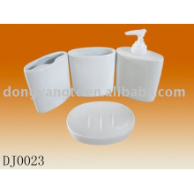 4pcs ceramic bath accessory