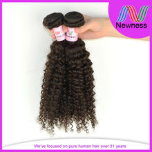 Best selling latin curl natural afro hair weave