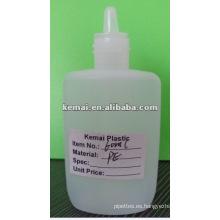 Botella cuentagotas plana