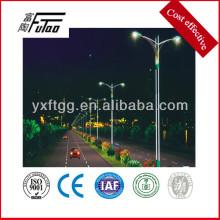 Luces de calle llevadas de alta potencia 200w con el poste de luz de acero