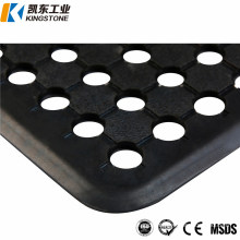 10 Meters Long Black Rubber Roll Matting in Black Color