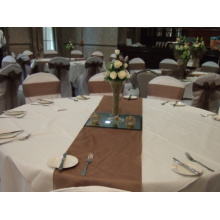 Organza de casamento corredor de mesa