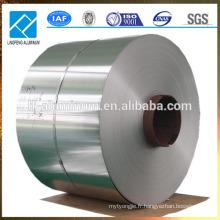 Fabrication de bobines en tôle d'aluminium en finition de moulin en Chine