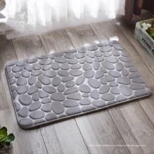 Tapis gris multicolore imprimé tapis 3d mat