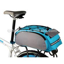 Bolso grande de la ropa del asiento trasero de la bicicleta, bolso de la bici