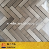 polished wooden vein mosaic, mosaic tile, cheap mosaic tiles                                                                                                         Supplier's Choice