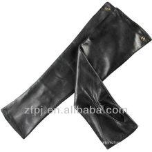Damen Elegent Fingerlose Lange Lederhandschuhe