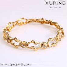 72906- Xuping Schmuck Mode Heißer Verkauf Frau Armband mit 18 Karat vergoldet