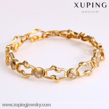 72906- Xuping Jewelry Fashion Hot Sale Woman Bracelet with 18K gold plated