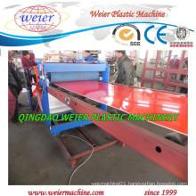 Plastic PP PE Sheet Production Machinery