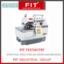 4-Thread Super High Speed Overlock Sewing Machine Fit747