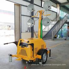 Tragbare Flutlichter mit Generator Mobile Lighting Tower Preisgenerator Light Tower zum Verkauf FZMTC-1000B
