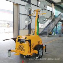 Портативные прожекторы с генератором мобильных осветительных вышек цена генератора световых башен на продажу FZMTC-1000B
