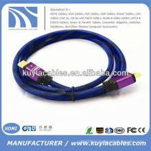 Cable amarillo HDMI a HDMI de alta calidad para HDTV