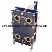Tipo intercambiador de calor solar de la placa de la junta de NBR de la placa de la transferencia de calor de alta eficiencia AISI316