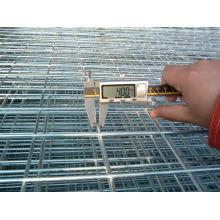Panel de malla de alambre soldado con autógena galvanizado en el agujero cuadrado
