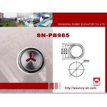 Otis Elevator Braille Push Button (SN-PB965)