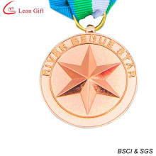 Medalha de lembrança de cobre barato personalizado 3D (LM1256)
