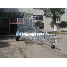 ATV trailer hot dipped galvanized with different sizes