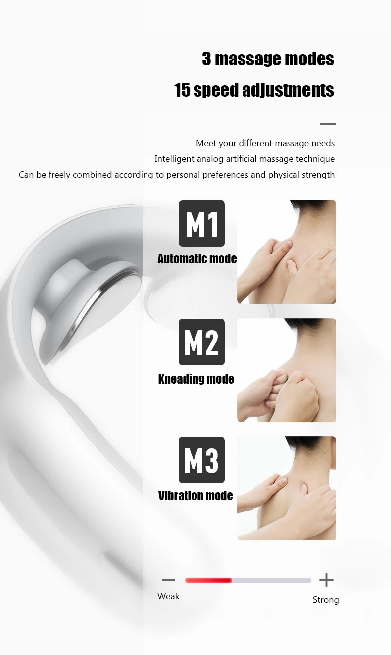 vibrating neck massage pillow