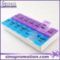 Weekly Plastic Storage Medicine Box with Custom Design