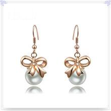 Perlen-Schmucksache-Art- und Weisezusatz-Legierungs-Ohrring (AE279)