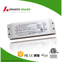 non waterproof ip20 0-10v 24v 36w dimmable power supply constant voltage