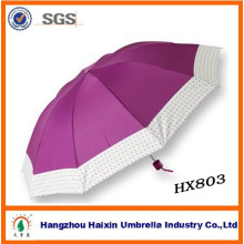 South Africa Market Big 3 Fold Colored Umbrella OEM