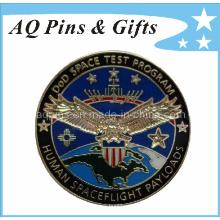 Insigne de police en métal Cloisonne en imitation 3D (badge-001)