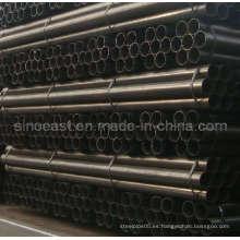 Tubería de acero negra ERW fabricada en China