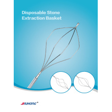 Endoscopie Ercp diamant forme Pierre Extraction panier