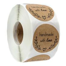 La impresión personalizada de vinilo adhesivo impermeable le agradece la etiqueta de etiqueta