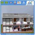 High quality Two floors custom design modular hotel kit house