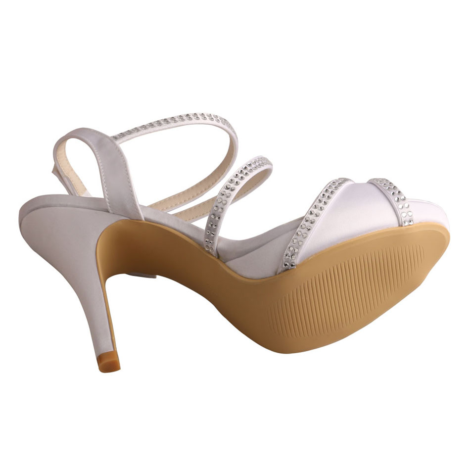 Wedding Sandals White
