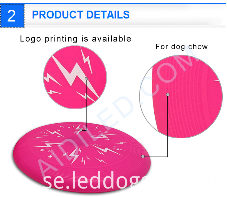 Light Up Dog Frisbee