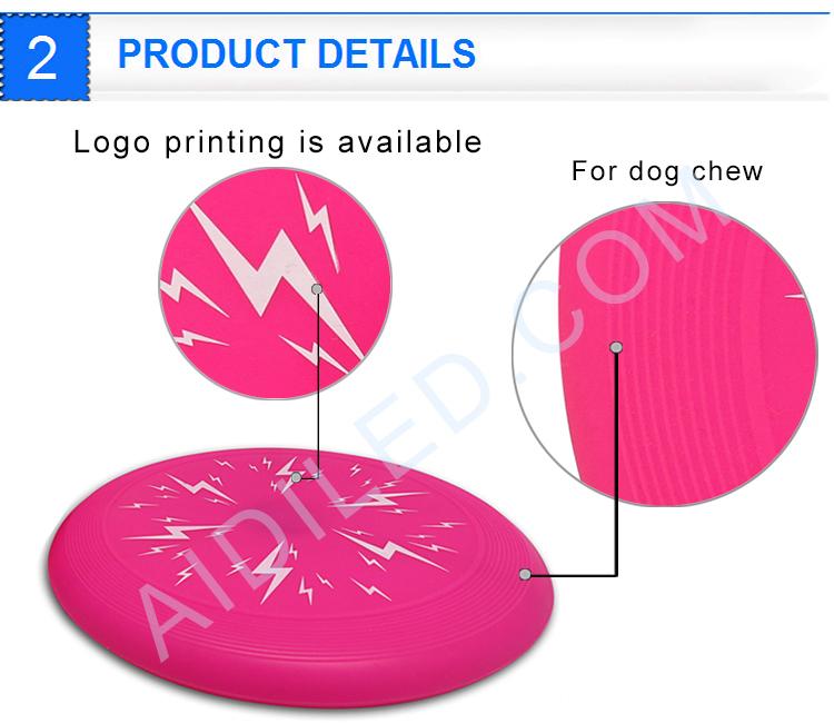 Silicone Dog Frisbee