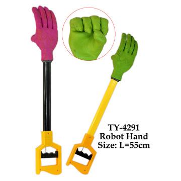 Juguete caliente de la mano del robot divertido