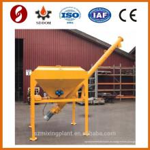 3 toneladas Silo de cemento móvil usado en planta mezcladora de hormigón móvil