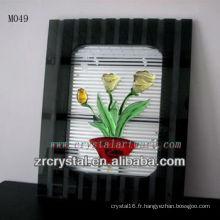 Fleur en cristal K9