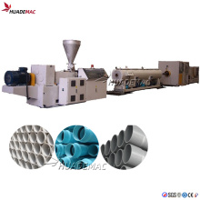 PVC Spiral Muffle Pipe Extrusion Line