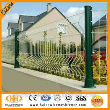 Pvc and galvanized fencing net iron wire mesh(on sale)