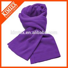 Moda de punto de acrílico bufanda lisa