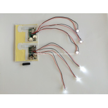 Светодиодный модуль для поздравительных открыток, светодиодная подсветка для магазина, светодиодная подсветка для подарочной коробки