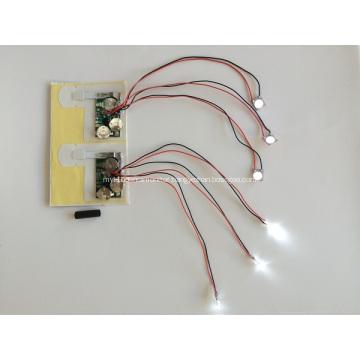 LED Module for Greeting Cards, LED Light for magazine,led light for gift box